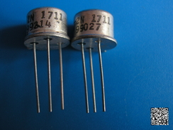 RFRA152 TRANSITORS 2N1711 X2 COMPOSANT ELECTRONIQUE - Autres Composants