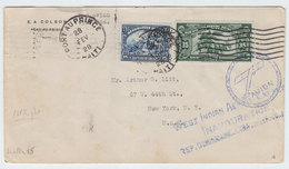 Haiti/USA FIRST FLIGHT COVER 1928 - Haiti