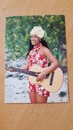 LA JOIE DE VIVRE Carte Postale Neuve Années 70 Très Bon état Dos Partagé - Polynésie Française