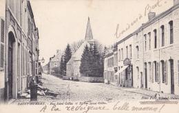 SAINT-HUBERT : Rue Saint-Gilles Et église Saint Gilles