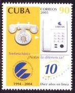 2005.7 CUBA MNH 2005 TELEPHON ETECSA ANIV. EMPRESA TELEFONOS. - Cuba