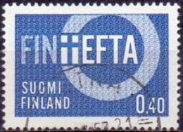 Finland 1967 E.F.T.A GB-USED