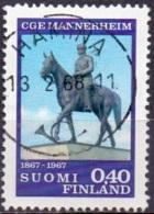 Finland 1967 Mannerheim GB-USED