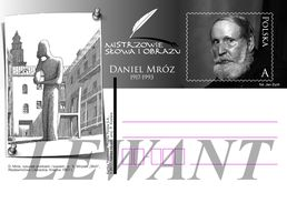 POLAND Postcard 2017.02.20. Cp 1768 Masters Word And Image - Daniel Mroz