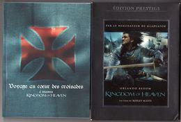 CINEMA - HISTOIRE - DVD - KINGDOM OF HEAVEN DE RIDLEY SCOTT - ORLANDO BLOOM / JEREMY IRONS / EVA GREEN / LIAM NEESON - Histoire
