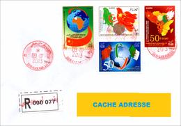 ALGERIA 2013 - LR - Registered Cover - Letter - Lettre - Pli Circulé - Algeria - China Relationship