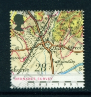 GREAT BRITAIN  -  1991  Ordnance Survey  28p  Used As Scan - Used Stamps
