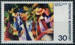 PIA - GERMANIA - 1974 :  Espressionismo Tedesco  - Quadri Di August Macke E  Erich Hecklel -   (YV 665-66)