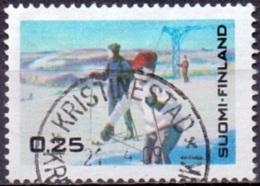 Finland 1968 Wintertoerisme GB-USED