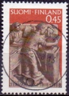 Finland 1968 Papierindustrie GB-USED