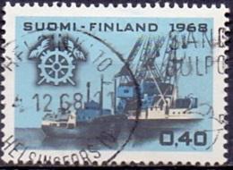 Finland 1968 Handelskamer GB-USED