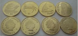 CHRISTMAS ISLAND 2016 Set Of 4 Coins UNC - Monnaies