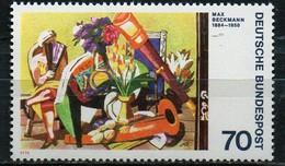 PIA - GERMANIA - 1974 :  Aspressionismo Tedesco - Quadri Di Max Beckmann E Ludwig Kirchner -   (YV 673-74)