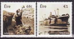 Ireland 2014 WWI,GALLIPOLI 1915 - MNH ** - 1949-... République D'Irlande