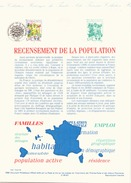 France Document Officiel Du 20 Fevrier 1999 Paris Recensement De La Population - Documenti Della Posta
