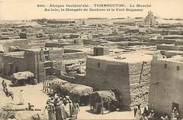 Pays Div-ref H148- Mali - Tombouctou -le Marché - Collection Fortier Dakar  -carte Bon Etat - - Mali