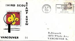 CANADA  VANCOUVER  Third Stamp Scout Show  5/10/68 - Padvinderij
