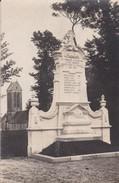 CARTE PHOTO MONUMENT AUX MORTS PREMIERE GUERRE MONDIALE - France