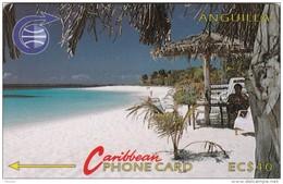 Anguilla, ANG-3B, EC$40, Shoal Bay - 3CAGB, 2 Scans. - Anguilla