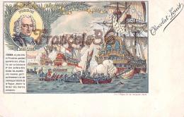 Forbin Bataille De La Hogue 1692 Illustration Chocolat Louit Marin Voilier Capitaine Flotte Expedition Navale - Hombres Políticos Y Militares