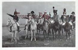 Napoleon 1er Austerlitz Cheval Campagne Militaire Armee Nationale - 2 SCANS - Hombres Políticos Y Militares