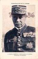 Général Gamelin Généralissime Des Armées Françaises Et Anglaises Personnalités De La Guerre - 2 SCANS - Politieke En Militaire Mannen