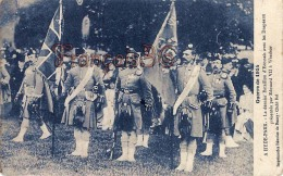 Hyde Park Bataillon Ecossais à Windsor Guerre 1914 Edouard VII - 2 SCANS - Oorlog 1914-18