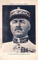 Général Bilotte Commandant D'Armée Personnalités De La Guerre - 2 SCANS - Politieke En Militaire Mannen