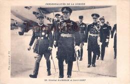 Général Gamelin Et Lord Gort Personnalités De La Guerre - 2 SCANS - Politieke En Militaire Mannen