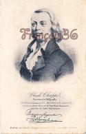Claude Chappel Inventeur Du Télégraphe Portrait - 2 SCANS - Célébrités