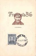 Luis Braille éducateur  - 2 SCANS - Célébrités