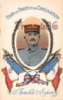 Générale Franchet D'Esperey Carte Postale Illustrée  - 2 SCANS - Politieke En Militaire Mannen