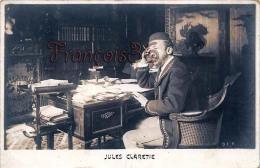 Jules Claretie Ecrivain - 2 SCANS - Ecrivains