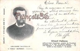 Eduard Pailleron Poète Auteur Dramatique Casiez Bourgeois  - 2 SCANS - Ecrivains