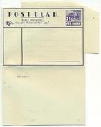 Nederlands Indië 1938 Postblad G4 Met 7,5 Cent Ongebruikt