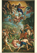 "Lavagna (Genova, Liguria) Basilica Di Santo Stefano, ""Martirio Di S. Stefano"" Di Fontana - Autres Villes"