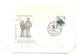 1982 - Italia - Biglietto Postale Commemorativo Raduno Spazzacamini