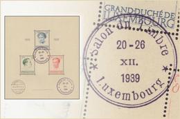 Luxembourg BL 003(o) - Caritas 1939 - Salon Du Timbre