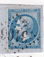 OBLITERATION GC 3106, REMIREMONT - Marcophilie (Timbres Détachés)