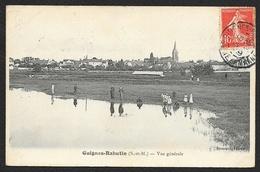 GUIGNES RABUTIN Vue Générale (Brossard) Seine & Marne (77) - France