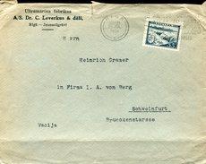 18667 Latvija,  Cover Circuled 1939 From Riga To Germany - Latvia