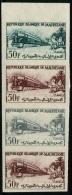 MAURITANIE - Essai De Couleur N°161 En Bande De 4 - Thème Train - Neuf ** LUXE - Mauritania (1960-...)