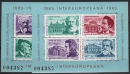 RO 105 - ROUMANIE BF 176/177 Neufs** Musiciens Et Opéras Européens - Hojas Bloque