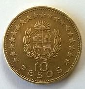 URUGUAY - 10 Pesos 1965 - Cu-Alu - Superbe +++ - - Uruguay