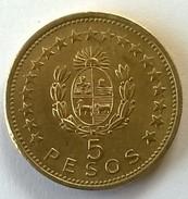 URUGUAY - 5 Pesos 1965 - Cu-Alu - - Uruguay