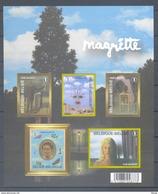 GDCD 4 RENE MAGRITTE  ONGETANDE BLOK ZONDER NUMMER 2008