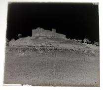 Château De La Capelle Gard - Négatif Sur Plaque De Verre 6X6cm Env - Glass Slides