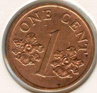 Singapour Singapore 1 Cent 2001 KM 98 - Singapour