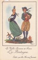 LES VIEILLES PROVINCES DE FRANCE FARINES JAMMET LA BRETAGNE - Chromos