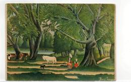Postcard - Art - Henri Rousseau - Dit Le Dovanier - L'ete Summer Very Good - Postcards